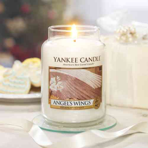 "Yankee Candle ""Angel Wings"" Large 1306395E"