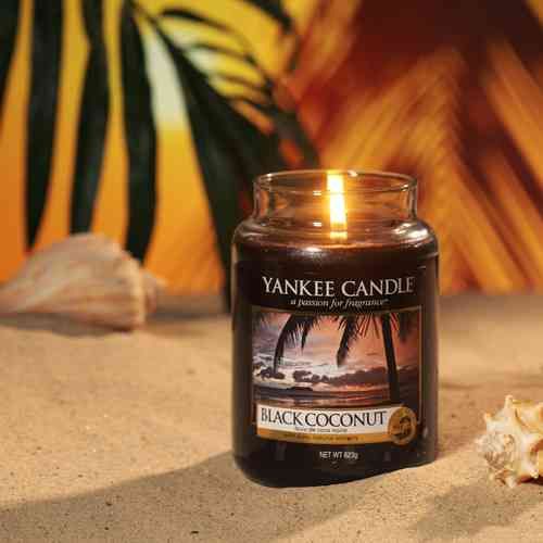 "Yankee Candle ""Black Coconut"" Large 1254003E"
