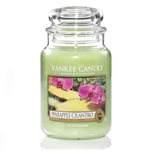 "Yankee Candle ""Pineapple Cilantro"" Large 1174261E"