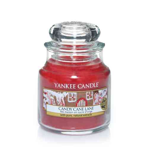 "Yankee Candle ""Candy Cane Lane"" Small 1308386E"