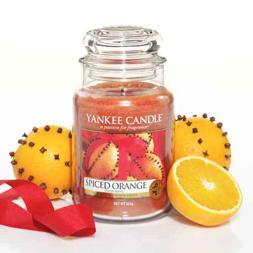 "Yankee Candle ""Spiced Orange"" Large 1188030E"