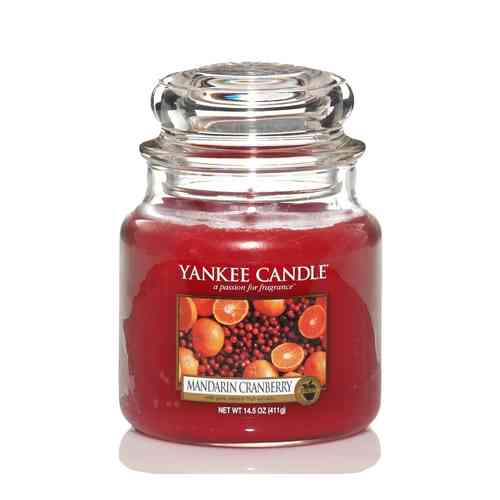 "Yankee Candle ""Mandarin Cranberry"" Medium 1053155E"