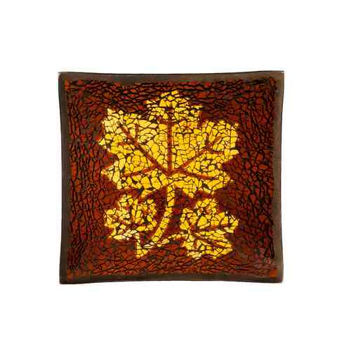 "Yankee Candle Accessoires ""Leaf Mosaic"" Small Tray 1317089"