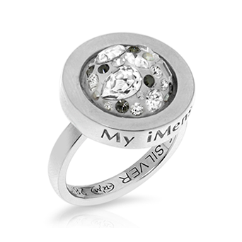 My imenso 925 Sterling Silber Ring 28022 (ohne Insignia)