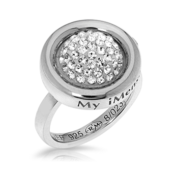 My imenso 925 Sterling Silber Ring 28021 (ohne Insignia)