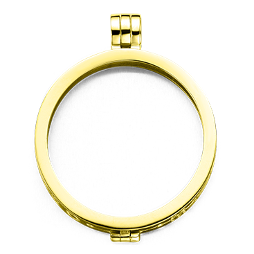 My imenso Medallion 33mm 33-0074 (925/Gold-pl.)
