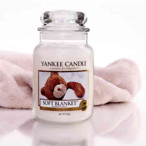 "Yankee Candle ""Soft Blanket"" Large 1173563E"