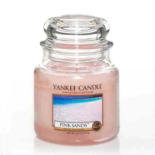 "Yankee Candle ""Pink Sands"" Medium 1205340E"