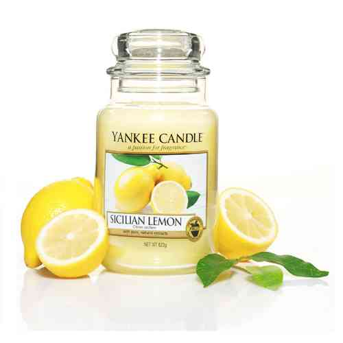 "Yankee Candle ""Sicilian Lemon"" Large 1230635E"