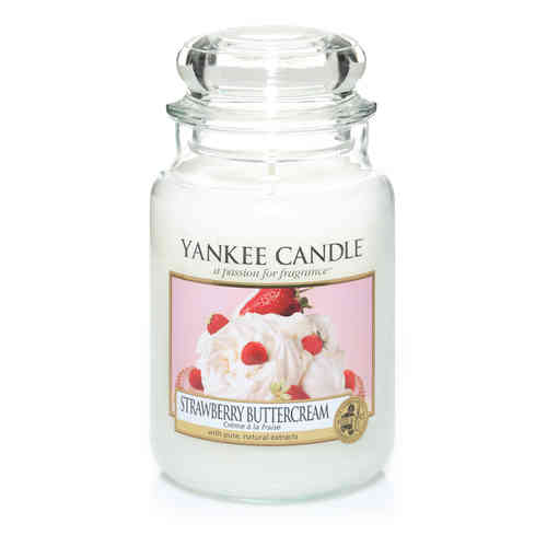 "Yankee Candle ""Strawberry Buttercream"" Large 1173530E"