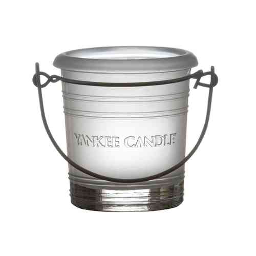 "Yankee Candle Accessoires Bucket ""FROSTED"" Votive Holder HBV601"