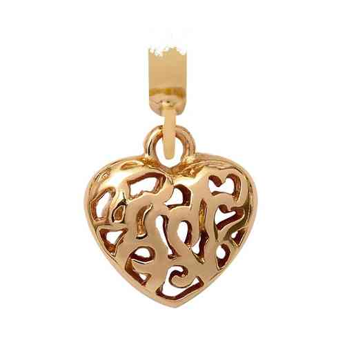 Endless Charm Heart 18k Gold plated
