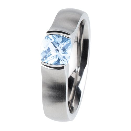 Ernstes Design Ring Topaz Ice-Blue R400.TIC ca. 0,91ct TCF