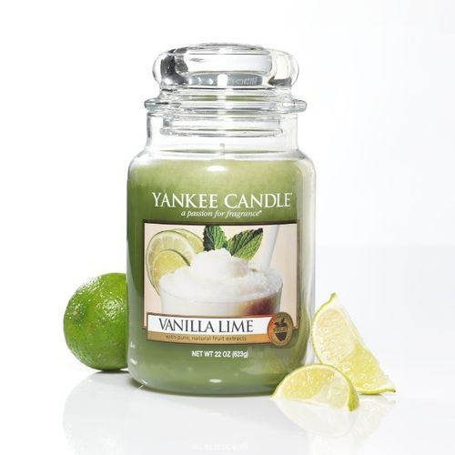 "Yankee Candle ""Vanilla Lime"" Large 1106730E"