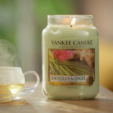 "Yankee Candle ""Lemongrass & Ginger"" Large 1507704E"