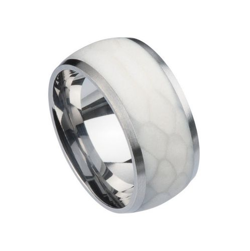 Ernstes Design Silk Wood Ring R378 White