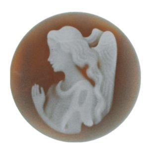"My imenso Insignia 33mm 33-0151 ""Angel"" Agate Cameo"
