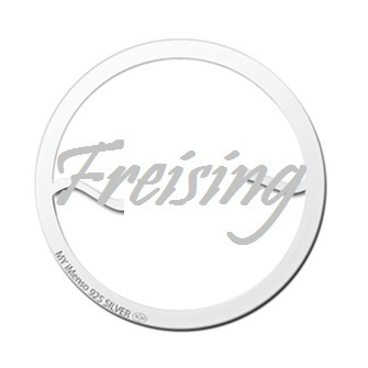 "My imenso Insignia 33mm 33-0601-F ""Freising"" Short Name"