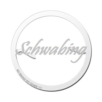 "My imenso Insignia 33mm 33-0601-S ""Schwabing"" Short Name"