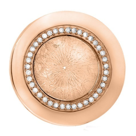 "My imenso Insignia 33mm 33-0259 Polished Cover ""Fantasy"" (925/Roségold-pl.)"