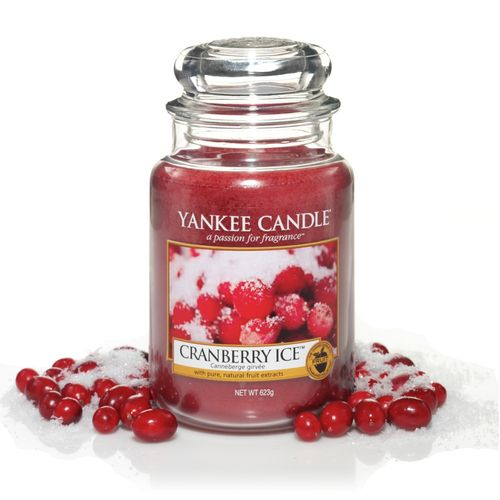 "Yankee Candle ""Cranberry Ice"" Large 1244595E"