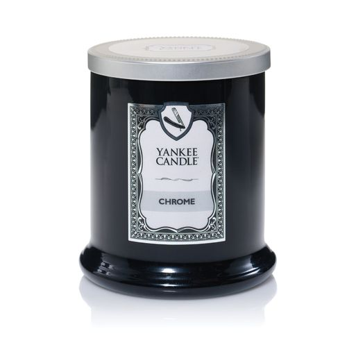 "Yankee Candle BARBERSHOP ""Chrome"" 1339951E"