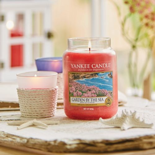 "Yankee Candle ""Garden by the Sea"" Large 1533673E"