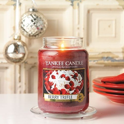 "Yankee Candle ""Berry Triffle"" Large 1342525E"