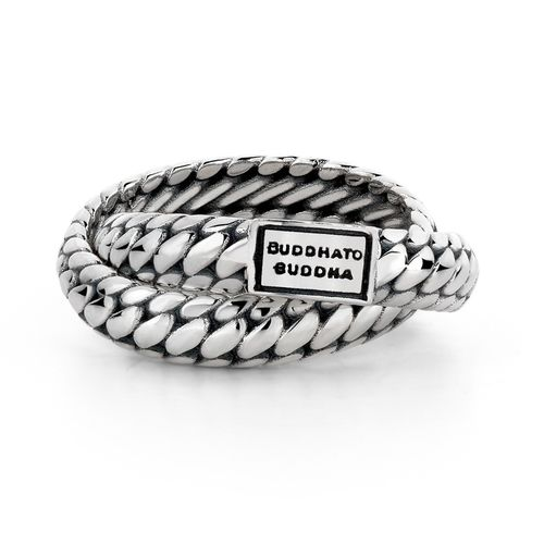 "Buddha to Buddha Silber Ring ""Ben Double Ring"" 607"