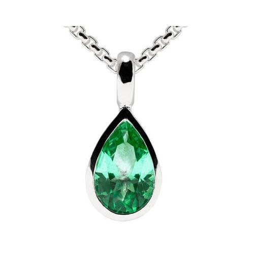 Fritsch Sterling Anhänger 0.8ct Topas Rainforest B00737-R